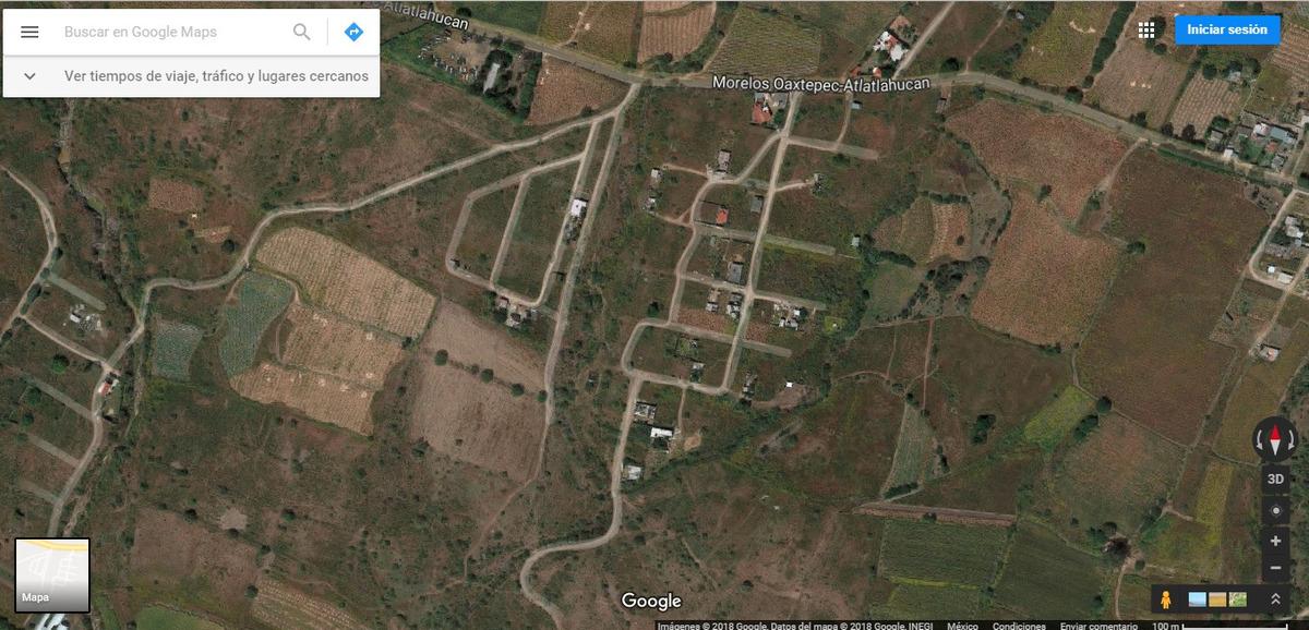 terreno rústico ideal para casa de descanso cerca oaxtepec.