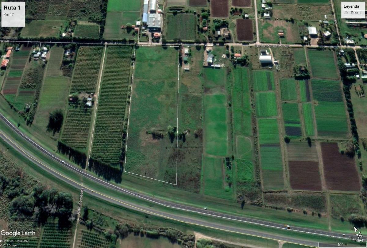 terreno ruta 1 logística