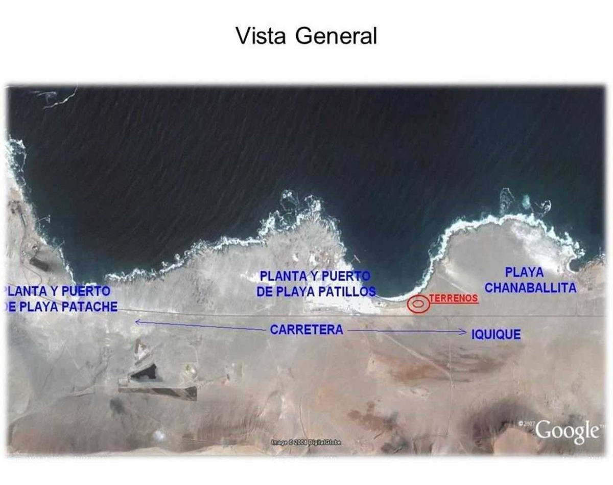 terreno ruta a-1 puerto de patillos y pa