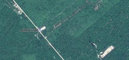 terreno ruta de los cenotes puerto morelos