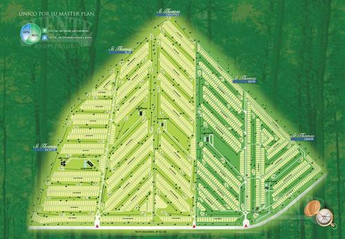 terreno - saint thomas oeste - ubicación top