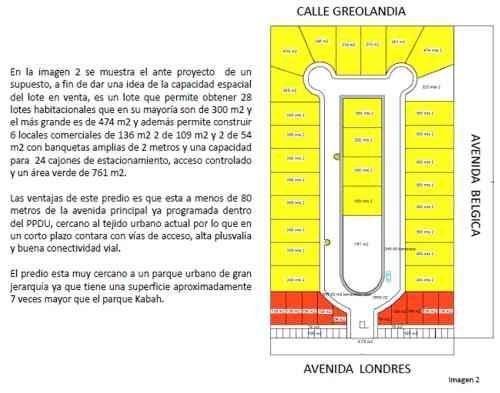 terreno santa ana en venta en cancun, proyecto incluído para inversionistas!!! c1584