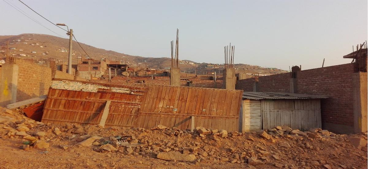 terreno semiconstruido de 125 m2