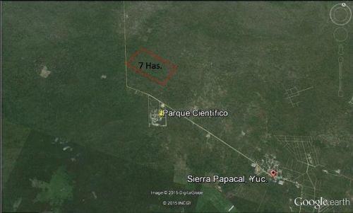 terreno sierra papacal