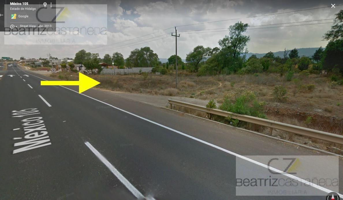 terreno sobre autopista atotonilco el grande - pachuca