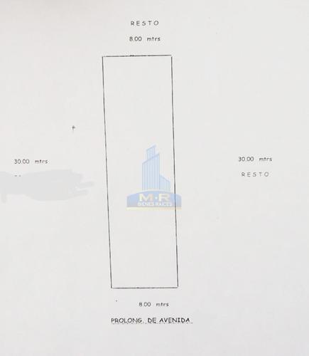 terreno sobre av principal en zona industrial $810,000.=