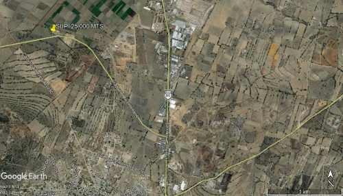 terreno sobre bicentario uso de suelo industrial sup. 25,000