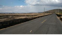 terreno sobre carretera 57 san luis de la paz 70 has.