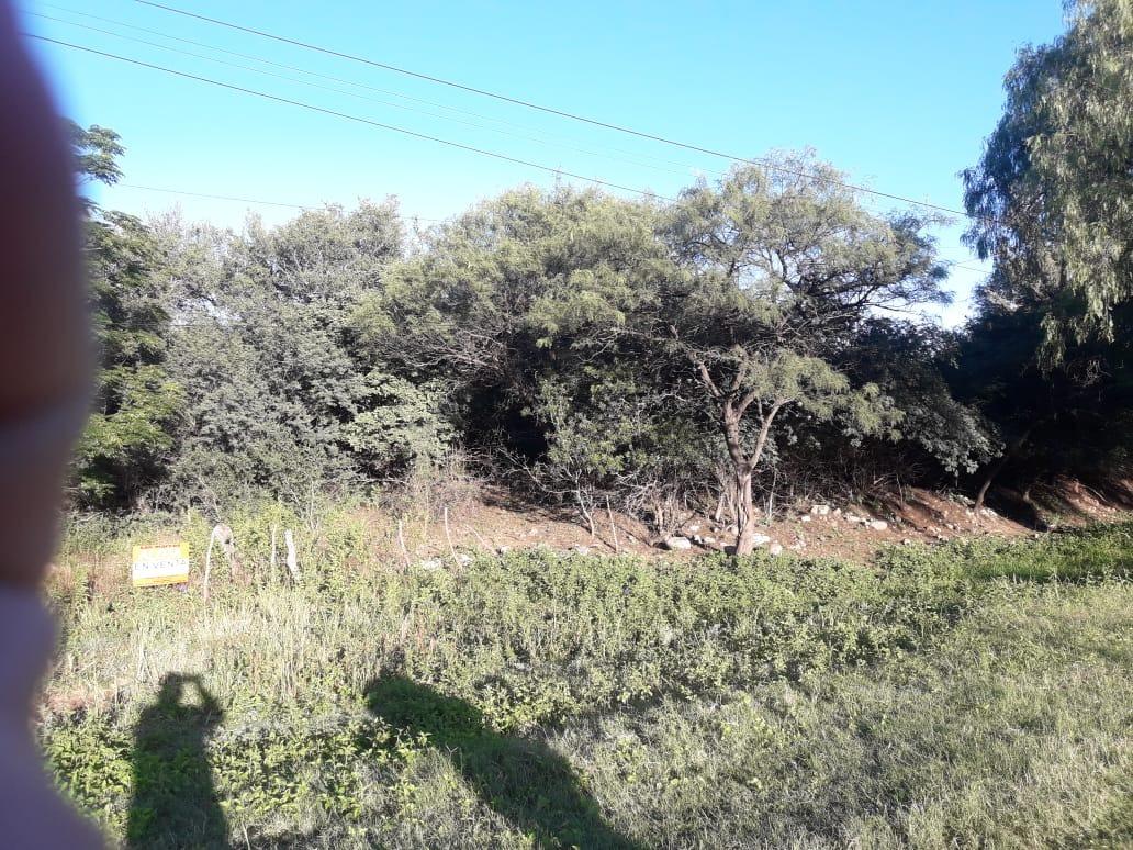 terreno sobre la ruta de acceso a san marcos.