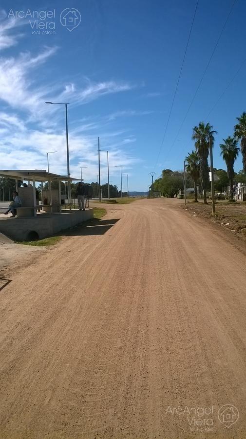 terreno sobre la ruta en  sauce de portezuelo - punta del este, ideal comercio.