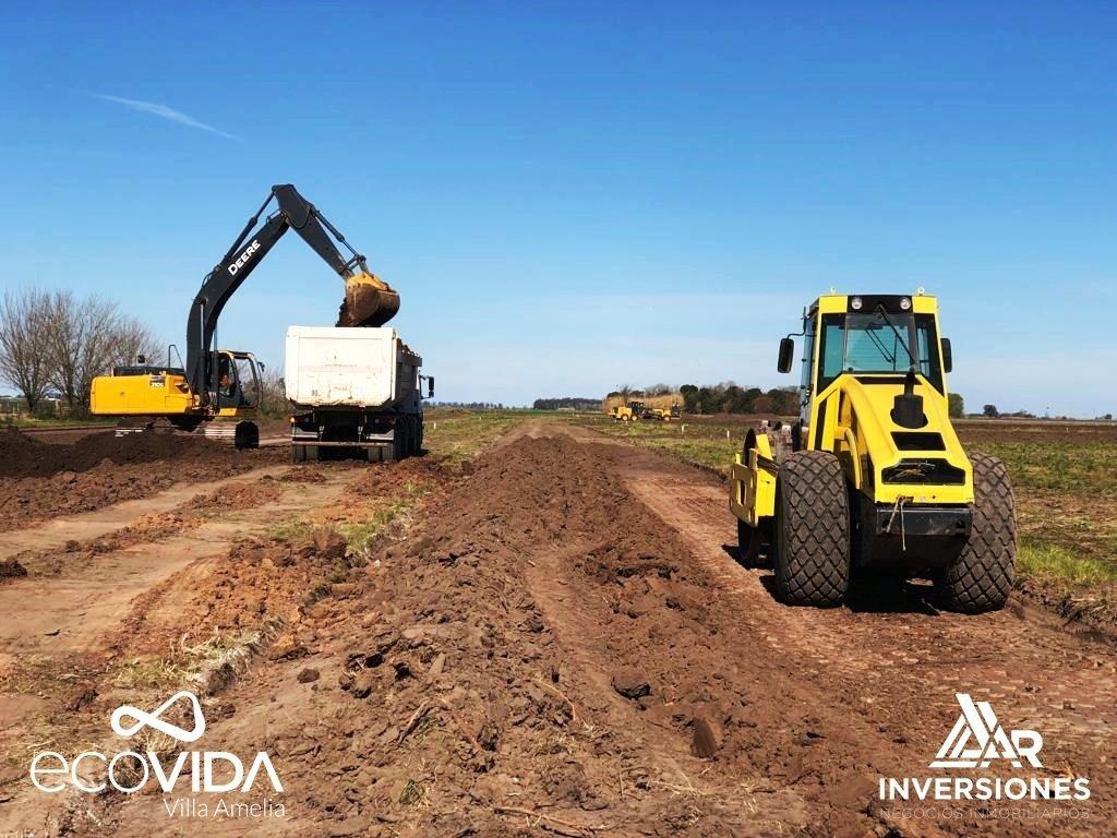 terreno sobre ruta 18 lote de 300 m2 financiado! ecovida