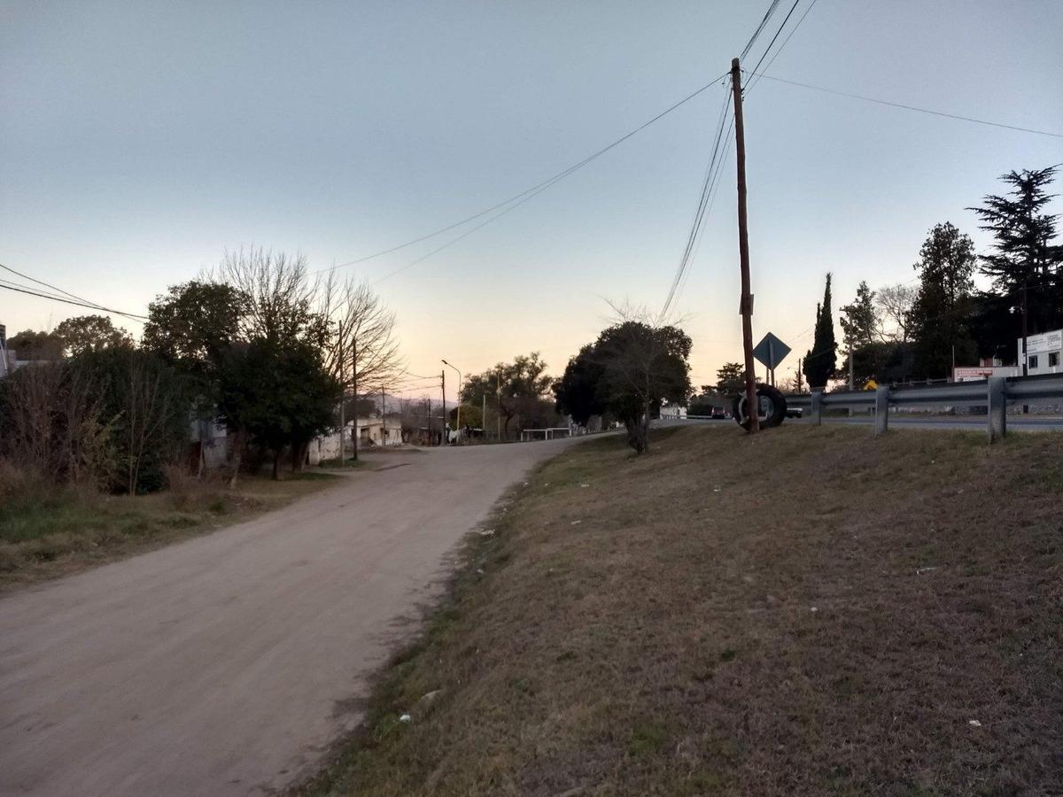 terreno sobre ruta en huerta grande