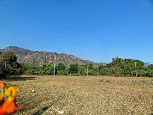 terreno tepoztlan con vista panoramica a 5 minutos del centro