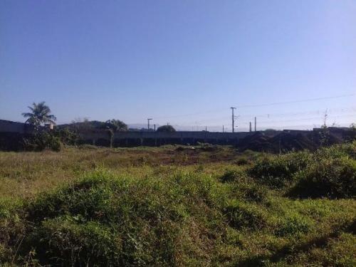 terreno todo aterrado no jardim cibratel, em itanhaém