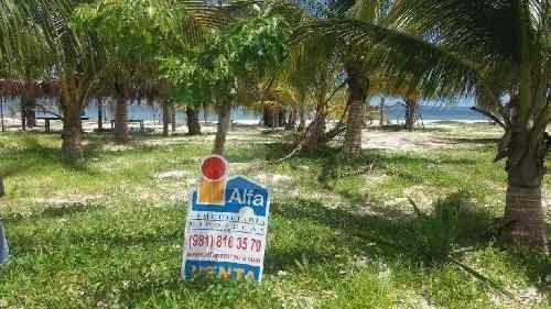 terreno turístico frente a playa