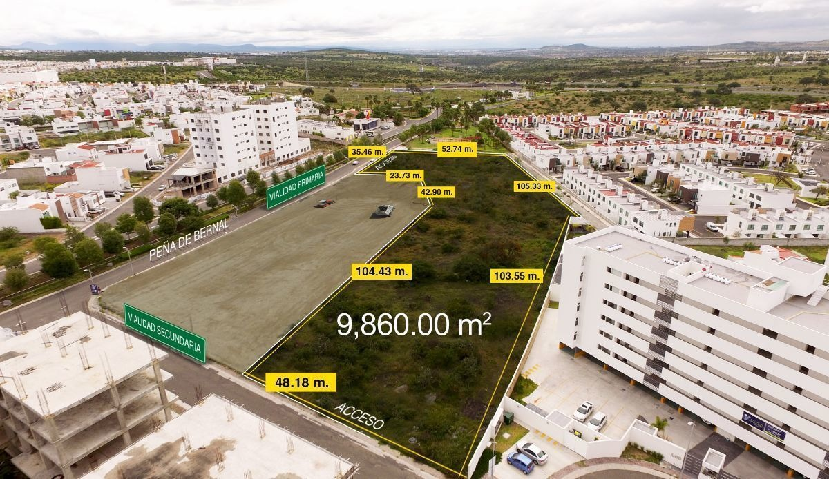 terreno urbanizado ideal para desarrollo habitacional en el refugio   39-tv-1358