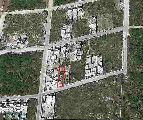 terreno urbanizado listo para construir en lomas dzityá 12x50