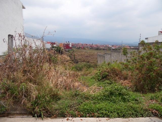 terreno urbano en lomas de zompantle / cuernavaca - est-582-tu