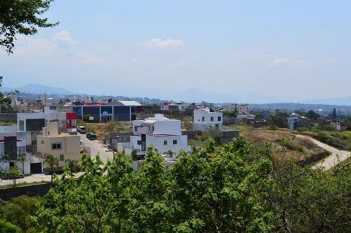 terreno urbano en lomas de zompantle / cuernavaca - est-697-tu