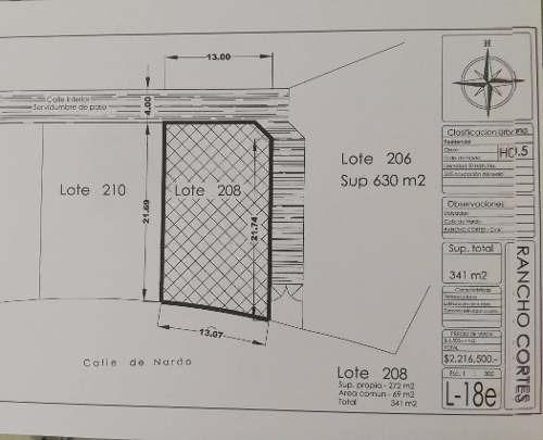 terreno urbano en rancho cortes / cuernavaca - ham-392-tu