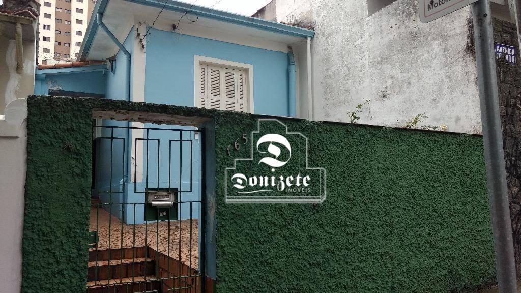 terreno à venda, 100 m² por r$ 405.000,00 - vila santa teresa - santo andré/sp - te0591