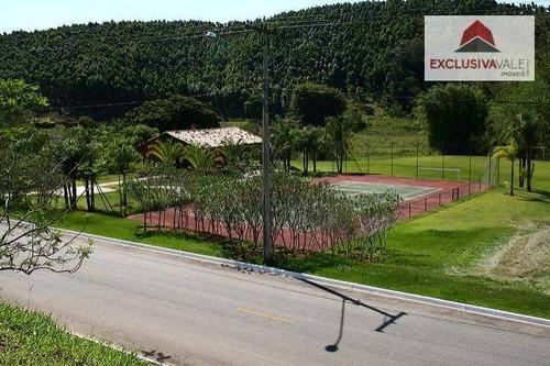 terreno à venda, 1000 m² por r$ 150.000,00 - village parahybuna - paraibuna/sp - te0121