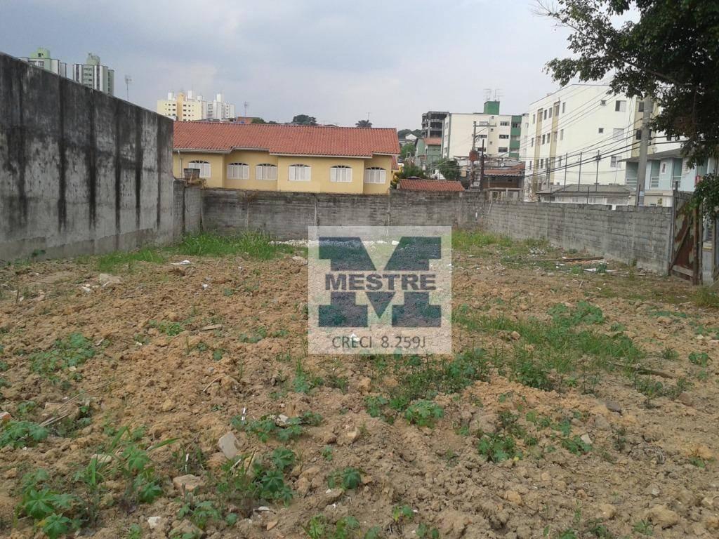 terreno à venda, 1000 m² por r$ 1.800.000,00 - vila rosália - guarulhos/sp - te0124