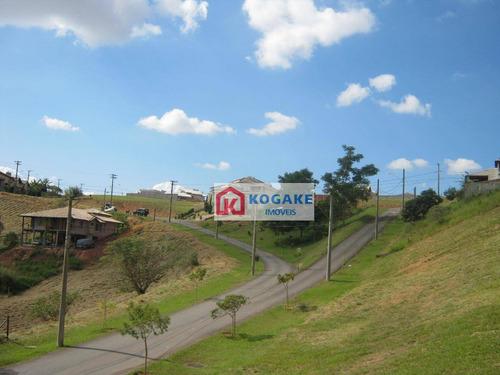 terreno à venda, 1000 m² por r$ 320.000 - bairro mirante do vale - jacareí/sp - te0870