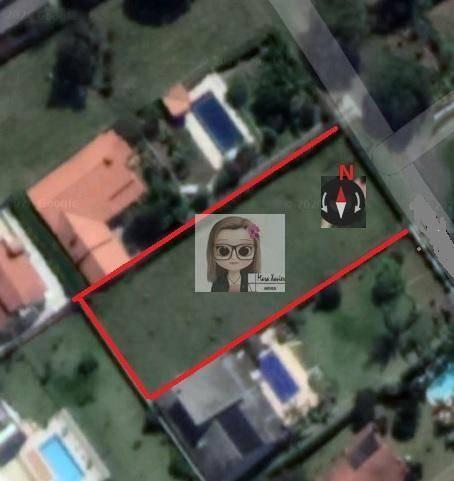 terreno à venda, 1000 m² por r$ 350.000,00 - condomínio chácaras do lago - vinhedo/sp - te0865