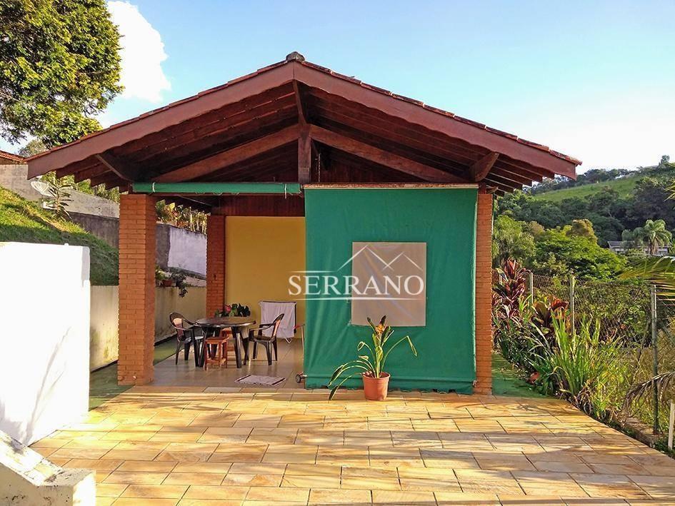 terreno à venda, 1000 m² por r$ 380.000,00 - condomínio chácaras do lago - vinhedo/sp - te0211