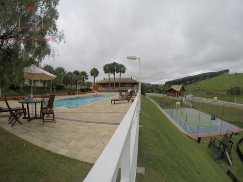 terreno à venda, 1000 m² - quinta dos lagos - paraibuna/sp - te0165