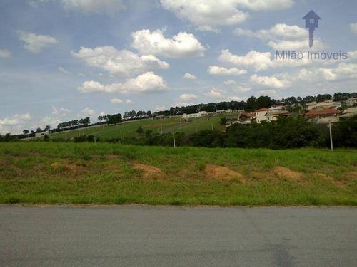 terreno à venda, 1000m², condomínio residencial dacha em sorocaba/sp - te0210