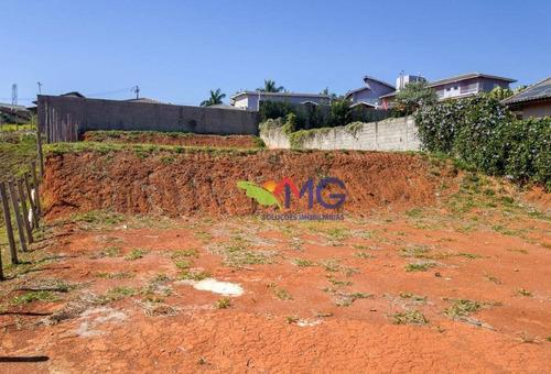terreno à venda, 1.002 m² por r$ 180.000 - terras da fazenda santana - atibaia/sp. - te0414