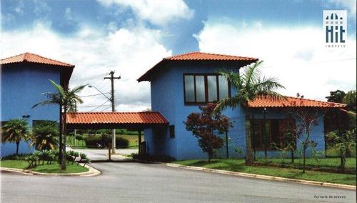 terreno à venda, 1018 m² por r$ 287.253 - condominio fechado - guararema/sp - te0035