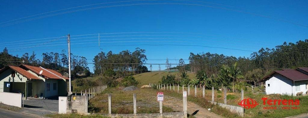terreno à venda, 1100 m² por r$ 270.000 - testo central - pomerode/sc - te0046