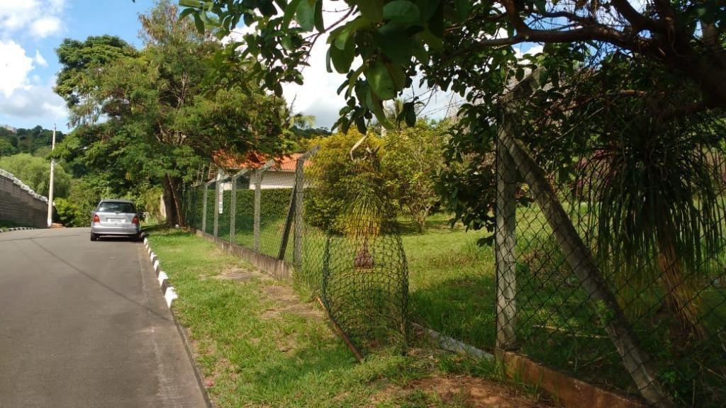 terreno à venda, 1122 m² por r$ 600.000 - bosque - vinhedo/sp - te1316