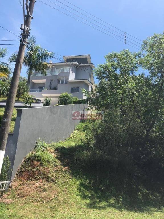 terreno à venda, 1190 m² por r$ 220.000,00 - condomínio hills iii - arujá/sp - te0632
