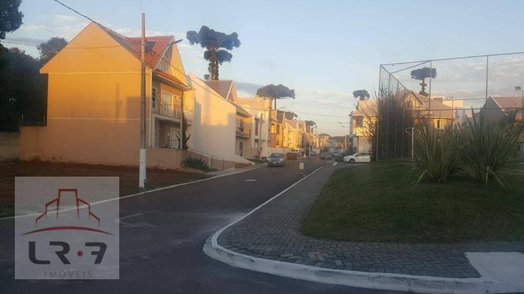 terreno à venda, 120 m² por r$ 200.000 - pinheirinho - curitiba/pr - te0081