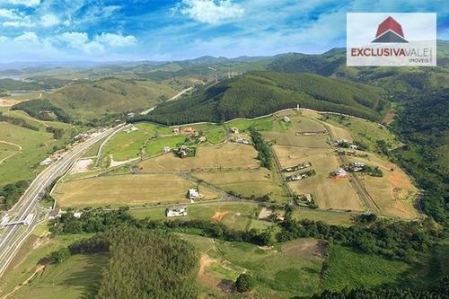 terreno à venda, 1226 m² por r$ 278.097,00 - village parahybuna - paraibuna/sp - te0123