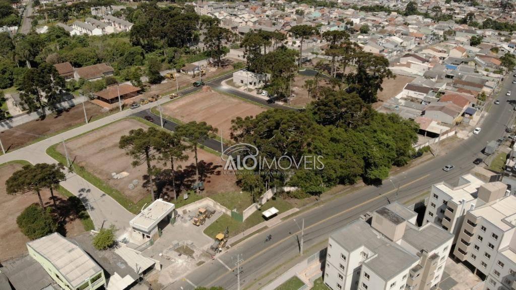 terreno à venda, 123 m² por r$ 190.913,92 - pinheirinho - curitiba/pr - te0133