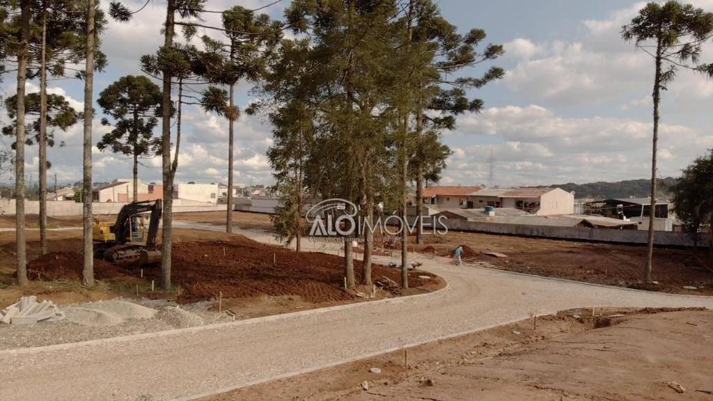 terreno à venda, 123 m² por r$ 190.913,92 - pinheirinho - curitiba/pr - te0134