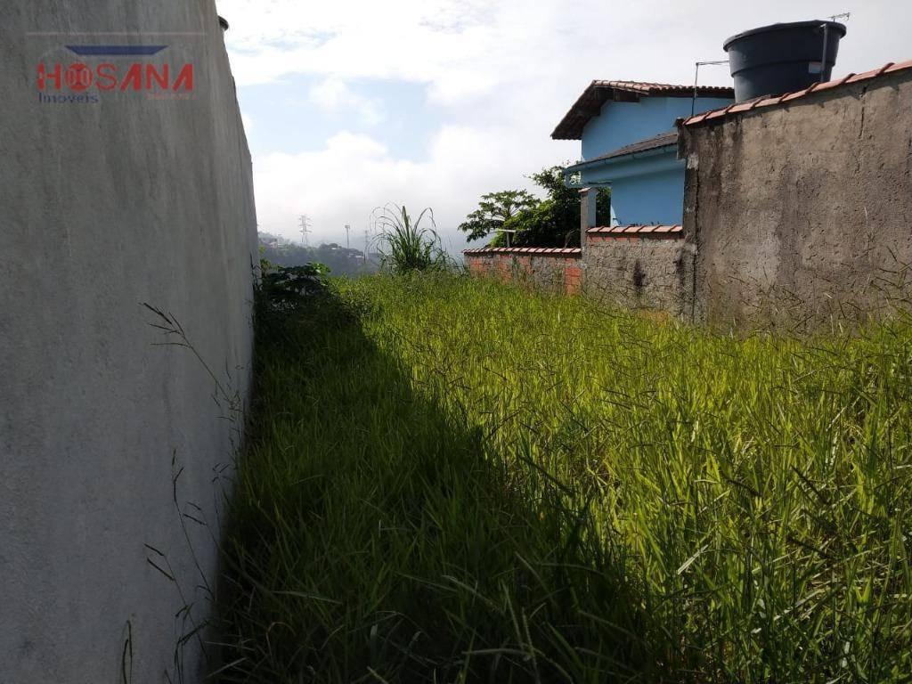 terreno à venda, 125 m² por r$ 150.000 - jardim dos eucaliptos - caieiras/sp - te0301