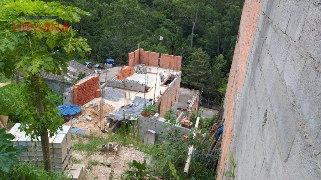 terreno à venda, 125 m² por r$ 65.000 - jardim marcelino - caieiras/sp - te0338