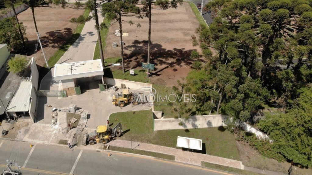 terreno à venda, 127 m² por r$ 196.603,52 - pinheirinho - curitiba/pr - te0150