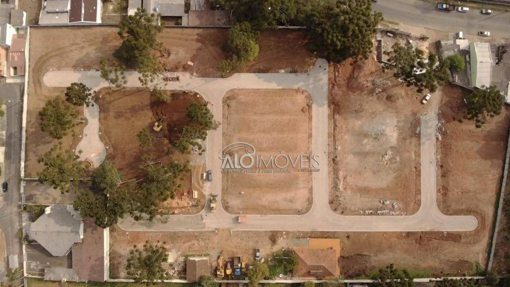terreno à venda, 127 m² por r$ 196.603,52 - pinheirinho - curitiba/pr - te0151