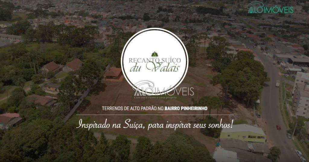 terreno à venda, 127 m² por r$ 196.998,01 - pinheirinho - curitiba/pr - te0125