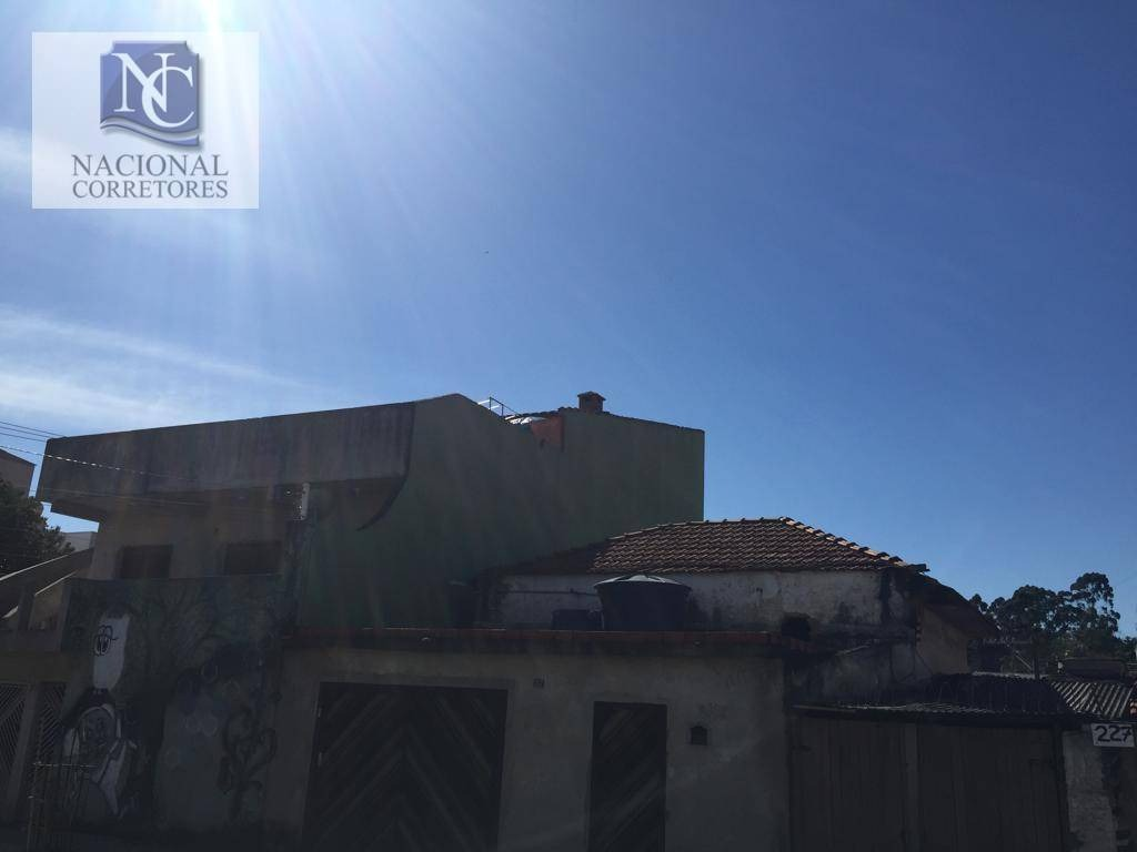 terreno à venda, 128 m² por r$ 250.000,00 - parque novo oratório - santo andré/sp - te0940