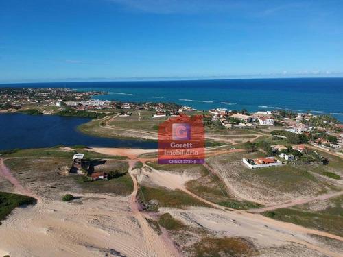 terreno à venda, 12890 m² por r$ 1.200.000 - praia de tabatinga - nísia floresta/rn v0530 - te0021