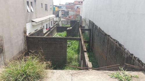 terreno à venda, 130 m² - parque piratininga - itaquaquecetuba/sp - te0428