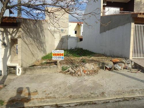 terreno à venda, 132 m² por r$ 110.000 - jardim residencial villa amato - sorocaba/sp - te5134